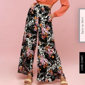 Free People Midnight Floral